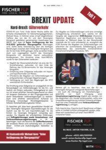 brexit update 16. Juni 2020