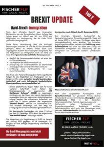 brexit update 30. Juni 2020